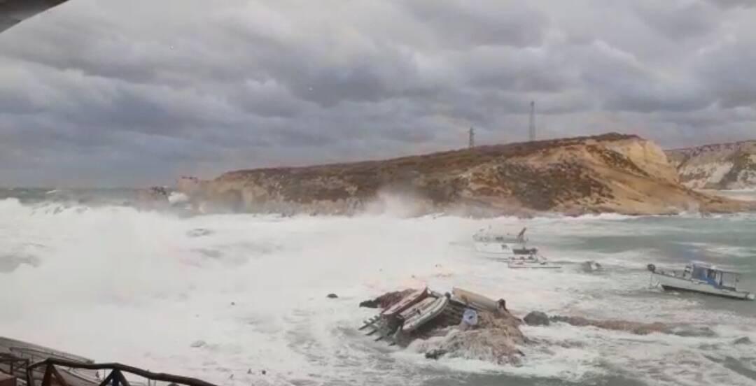 Barca affondata alle Tremiti