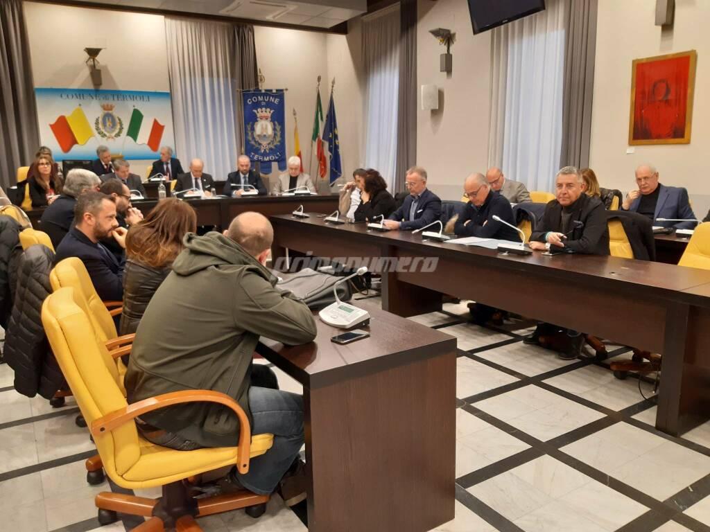 Consiglio comunale Termoli 27 febbraio 2020