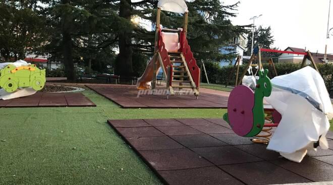 parco giochi inclusivo villa de Capoa Campobasso