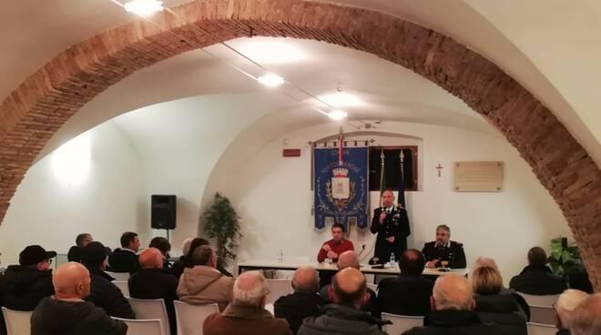 portocannone carabinieri e cittadini
