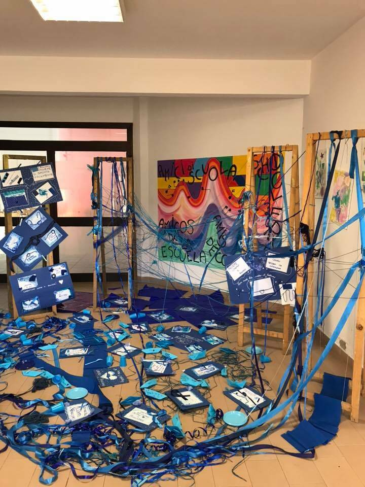 nodi blu istallazione scuola difesa grande