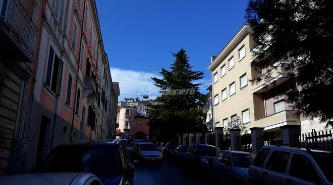 Campobasso centro storico via Petitti