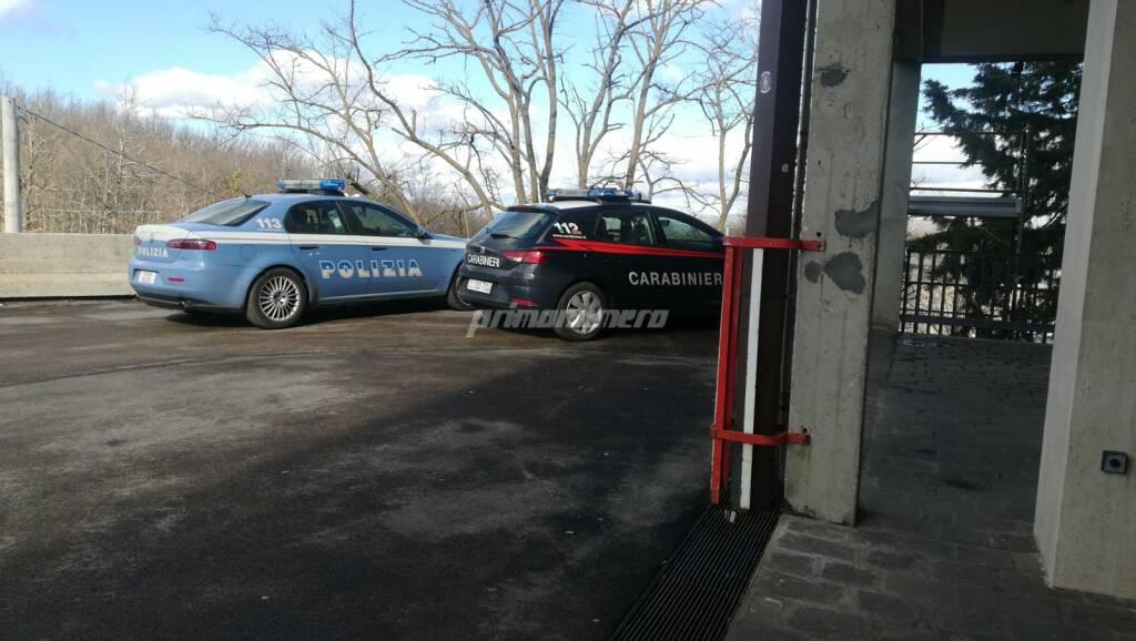 Polizia Carabinieri ospedale Cardarelli Campobasso