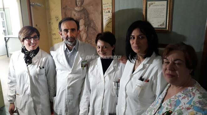 Medici reparto Oncologia Cardarelli Campobasso