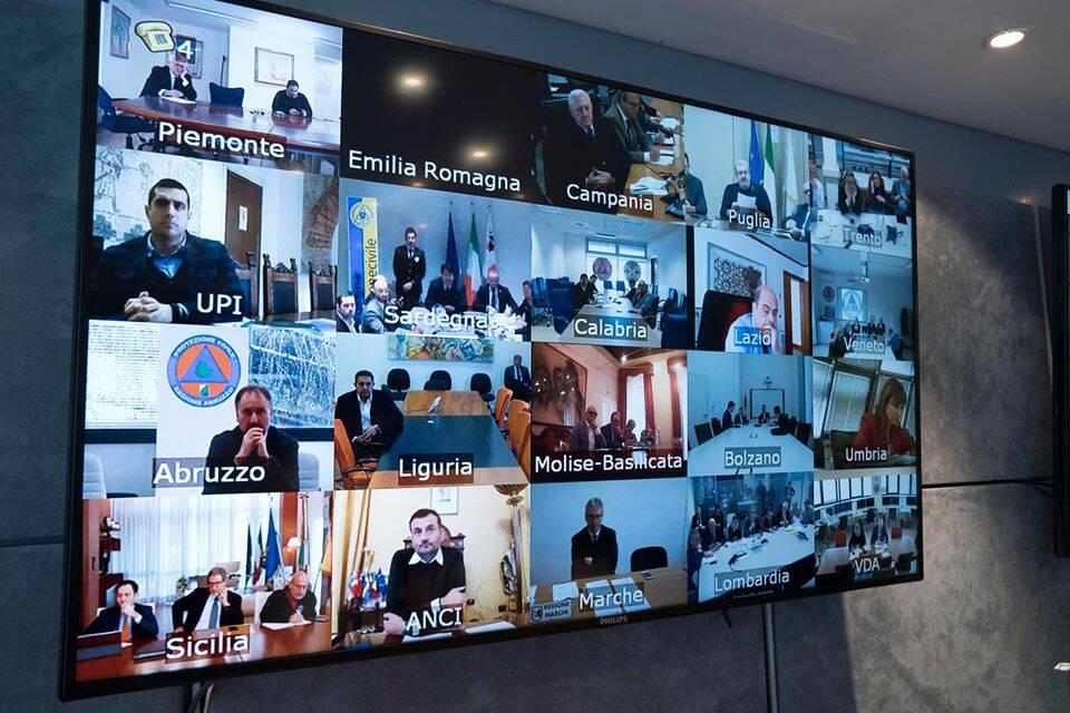 videoconferenza governatori Conte coronavirus