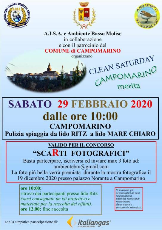 clean saturday campomarino