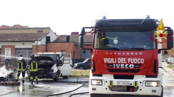 vigili del fuoco Bojano