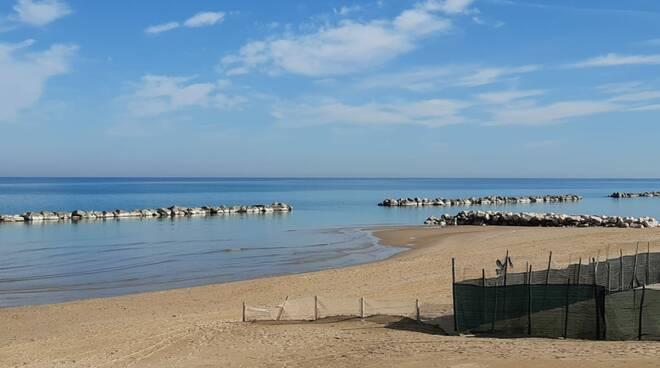 lungomare e spiaggia 17 febbraio