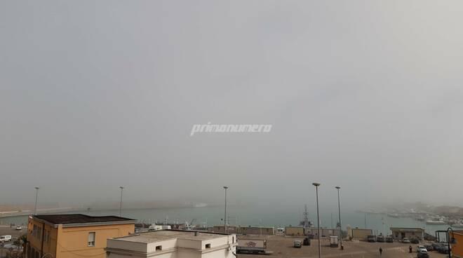 Porto nebbia