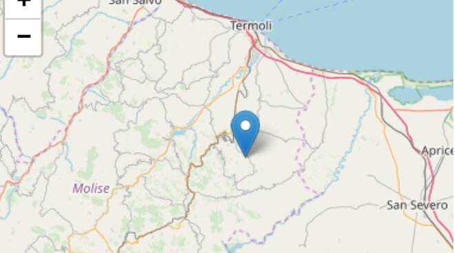 Terremoto 2.9 rotello