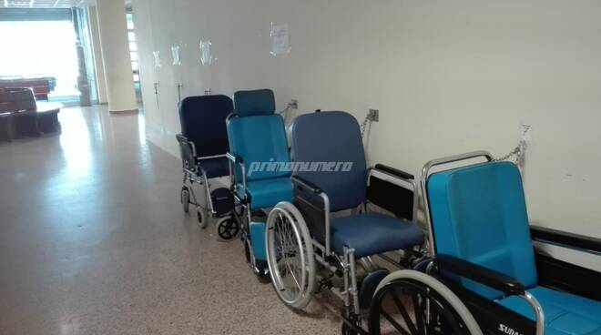 Coronavirus ospedale Cardarelli malattie infettive