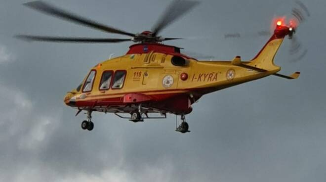 Elicottero 118 Petacciato