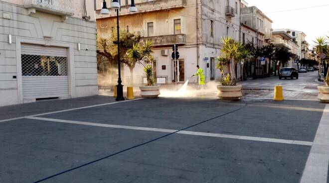 lavaggio strade termoli rieco