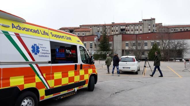 Ambulanza ospedale Cardarelli Campobasso