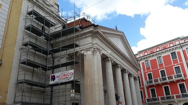 Cattedrale lavori Campobasso