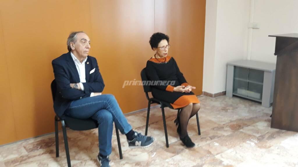Carolina de Vincenzo e De Gregorio ordine dei medici Campobasso