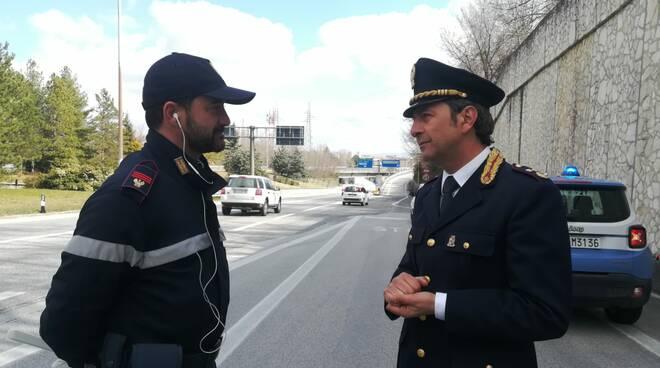 Graziano dirigente Stradale Campobasso Polizia