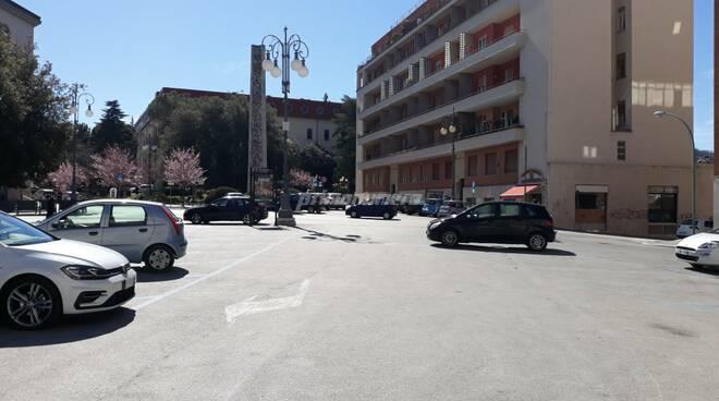 Piazza della Vittoria Campobasso monumento ai caduti