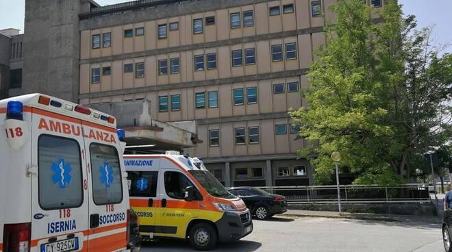 ospedale di Isernia (foto Regione Molise)
