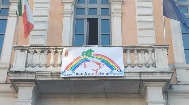 Palazzo San Giorgio andrà tutto bene