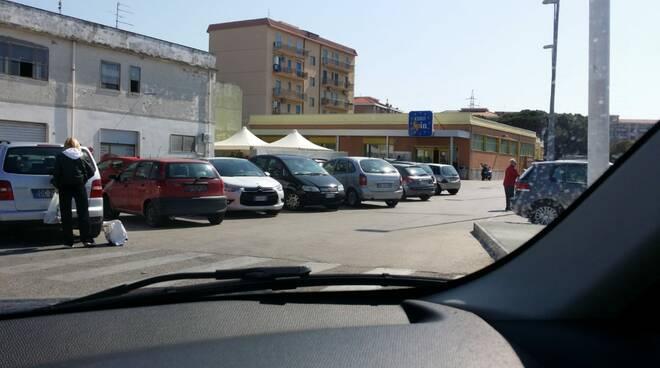 parcheggio eurospin