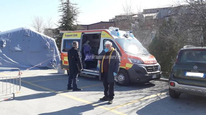 tamponi ambulanza Cardarelli Campobasso