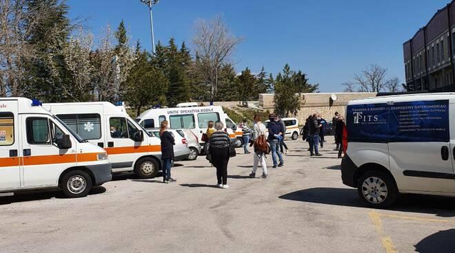 ambulanze tamponi cardarelli Campobasso