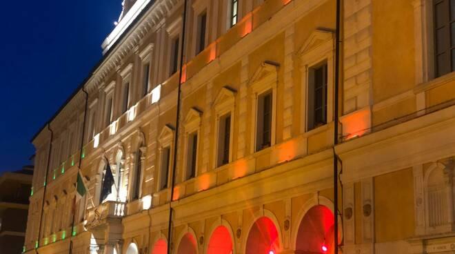 Palazzo San Giorgio tricolore