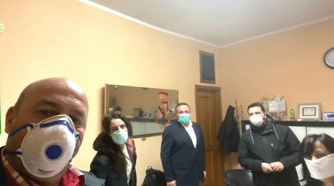 sindaco Riccia mascherine coronavirus