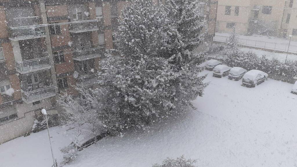 Neve Campobasso 24 marzo
