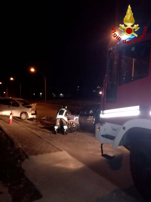 incidente contrada macchie CB