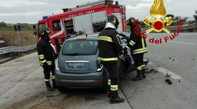 incidente tangenziale nord termoli