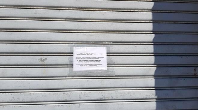 Negozi chiusi per coronavirus Guglionesi Termoli