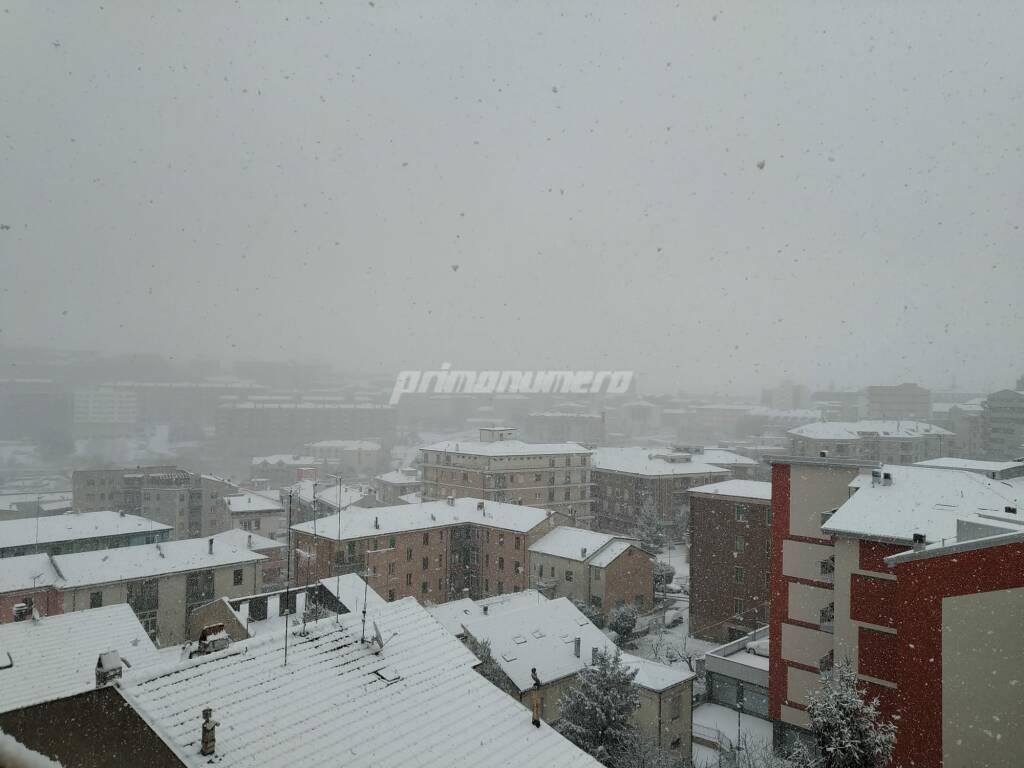 Neve 24 marzo 2020 Campobasso
