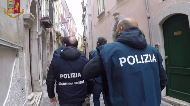 polizia squadra mobile CB