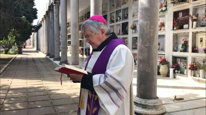 preghiera cimitero termoli vescovo de luca