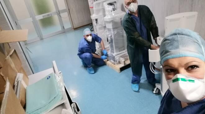 terapia intensiva cardarelli COVID