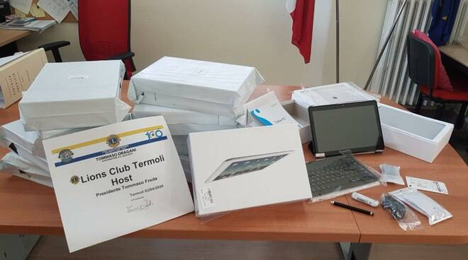 tablet donazione lions