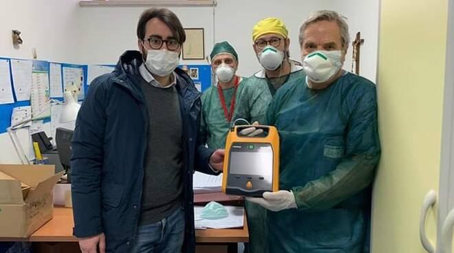 Defibrillatore al Veneziale