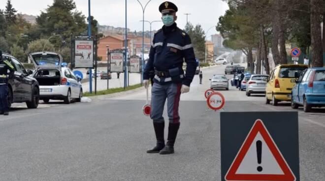 Polizia Campobasso controlli covid