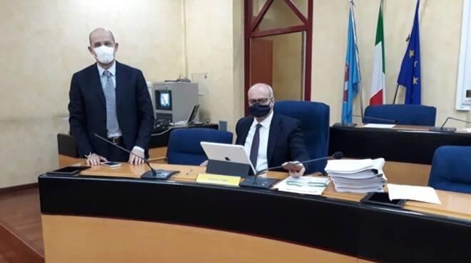 Toma e Pallante coronavirus Consiglio regionale bilancio