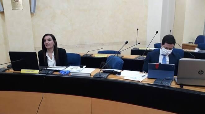 Fanelli e Greco consiglio regionale bilancio coronavirus