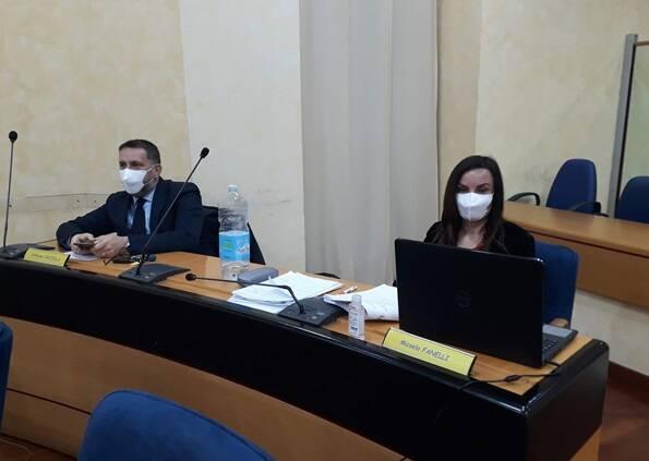 Facciolla e Fanelli consiglio regionale sessione bilancio covid