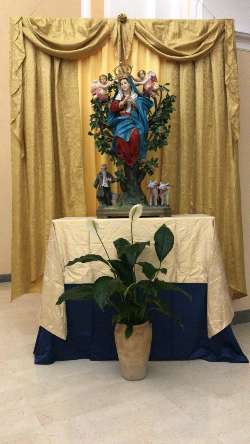 madonna incoronata santa croce