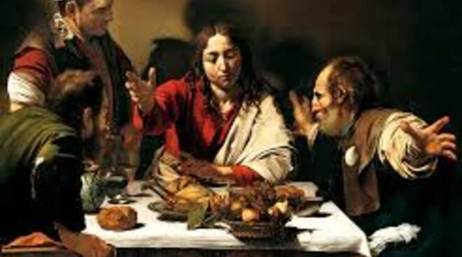 La cena di Emmaus Caravaggio