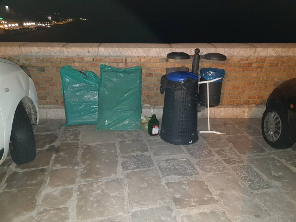 immondizia borgo vecchio Termoli