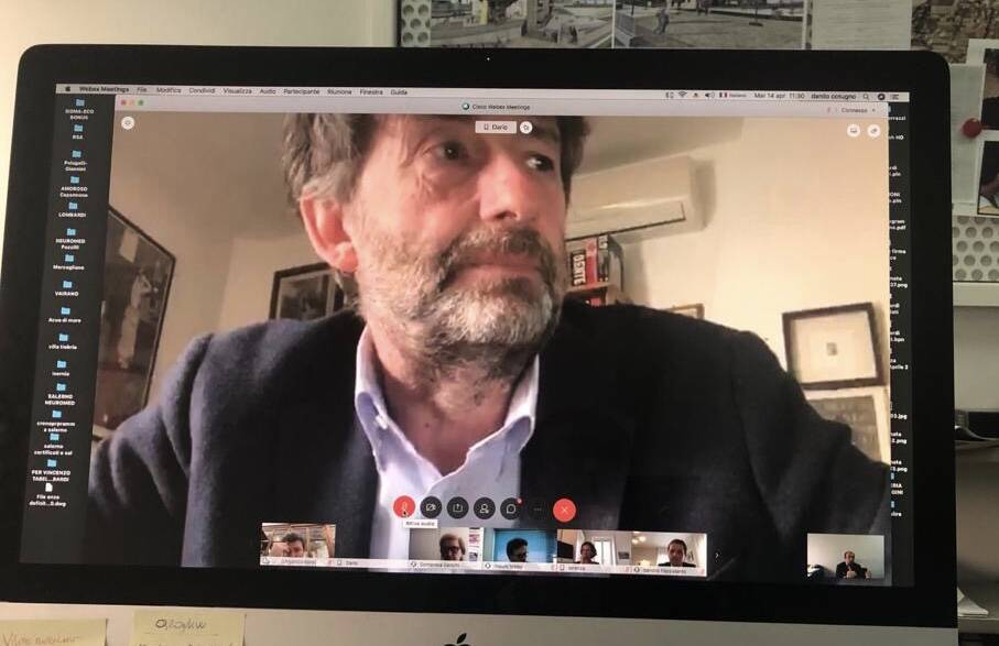 ministro franceschini video conferenza