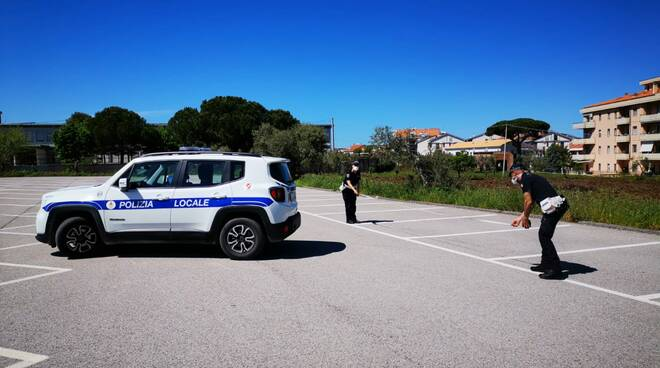 polizia locale Campomarino segnaletica mercato