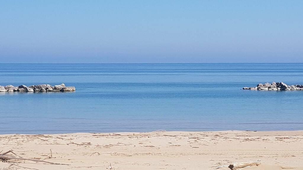 Spiaggia aprile 2020