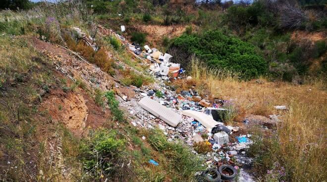 Discarica sequestrata contrada Arcora Campomarino
